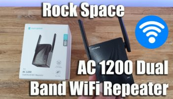 Rock Space WiFi Extender AC1200 Dual Band Wireless Repeater Review