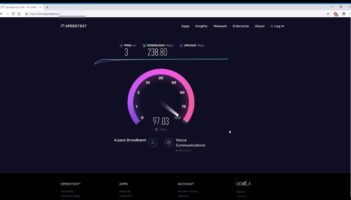 Aussie Broadband 250 mbps nbn plan fastest Speed test – Melbourne, Australia Review