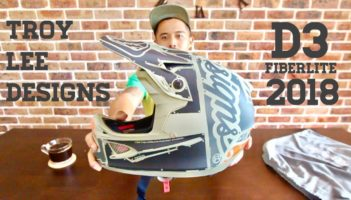 UNBOXING!!! Troy Lee Designs D3 Fiberlite Full Face Helmet Review
