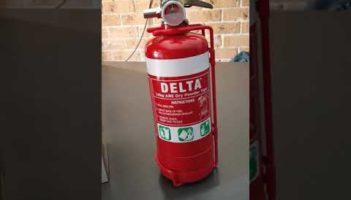 Aldi fire extinguisher review