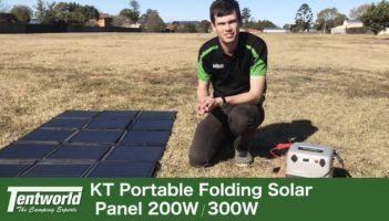 KT Solar Panel Blankets 200w & 300w Demo, Unbox & Review