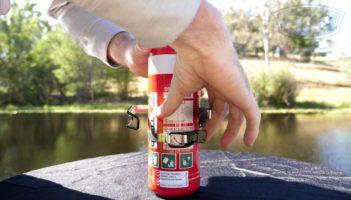 Quell Marine Fire Extinguisher 1kg