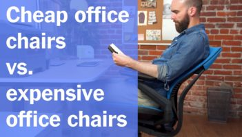 Cheap Office Chairs vs. Expensive Office Chairs Review