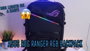 ASUS ROG Ranger RGB Gaming Backpack Review
