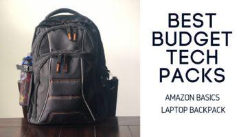 Amazon Basics Laptop Backpack Review