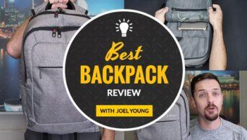 Backpack For Your Laptop – Tigernu Slim Laptop Backpack Review