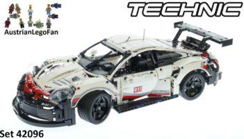 Lego Technic 42096 Porsche 911 RSR Speed Review
