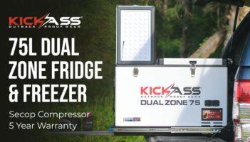 KickAss Portable 75L Dual Zone Camping Fridge Freezer Review