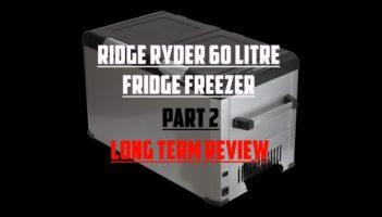 Ridge Ryder 60 Litre Fridge/Freezer – Long Term Review