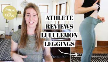 BRUTALLY HONEST LULULEMON LEGGINGS REVIEW
