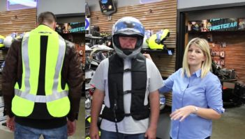 Helite Airnet Vest Demonstration and Video Review