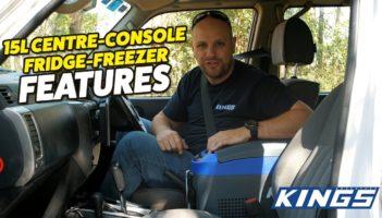 Adventure Kings 15L Centre Console Fridge Freezer Review