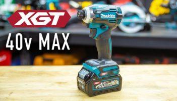 NEW Makita XGT 40v MAX Brushless Impact Driver (TD001G)