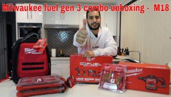 Milwaukee fuel gen 3 combo Review