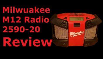 Milwaukee M12 Portable Radio Review