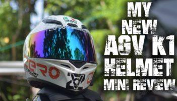 AGV K1 | My New Helmet Review