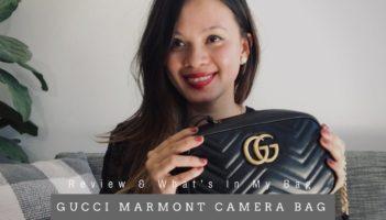 GUCCI MARMONT CAMERA BAG REVIEW