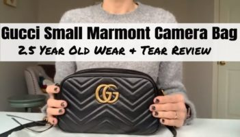 Gucci Marmont Small Camera Bag about 2.5 years old – Review
