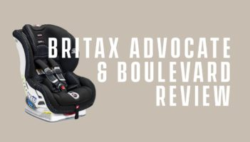 Britax Boulevard and Advocate ClickTight Review