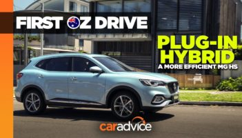 2021 MG HS Plug-in Hybrid First Drive Review