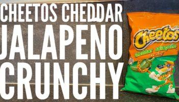 Cheetos Cheddar Jalapeño Crunchy Review