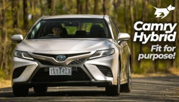 Toyota Camry Hybrid 2020 review