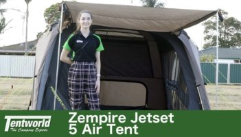 Zempire Jetset 5 Air Dome Tent Review