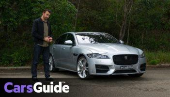 Jaguar XF R-Sport 25t 2017 review