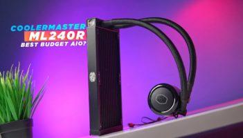 Cooler Master ML240R ARGB AIO Liquid Cooler Unboxing & Review