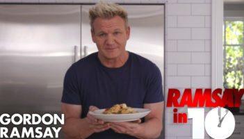 Gordon Ramsay Cooks Shrimp Scampi Review