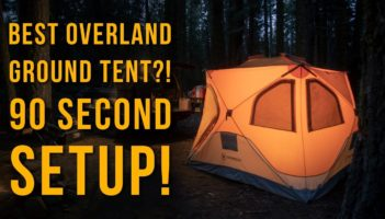 Overland Ground Tent?! Detailed Review