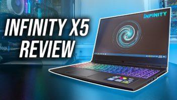 Infinity X5 (i7-9750H/GTX 1660Ti) Gaming Laptop Review