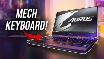 Mechanical Keyboard In A Laptop! Aorus 15G Review
