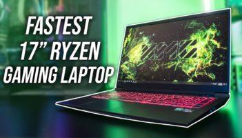 FASTEST Ryzen Gaming Laptop – XMG Core 17/Eluktronics RP-17 Review